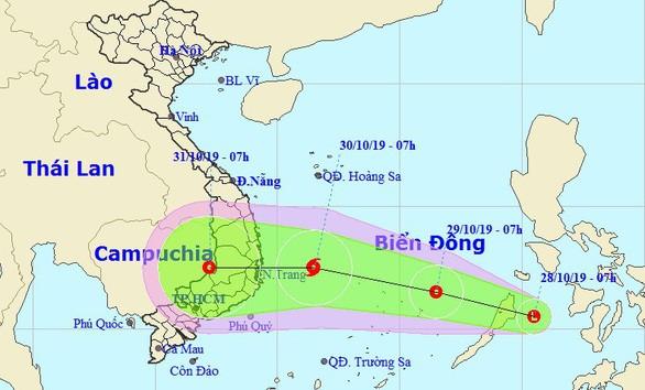 ATNĐ có thể mạnh lên thành bão trên biển Đông