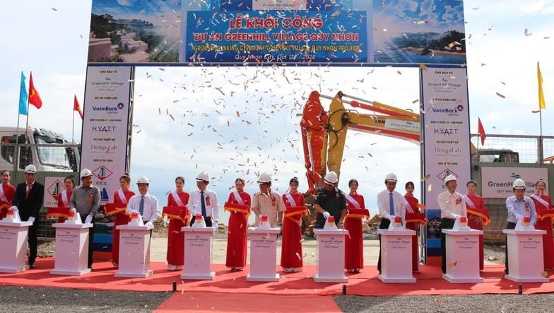 Nghi thức khởi công dự án Greenhill Village Quy Nhơn.