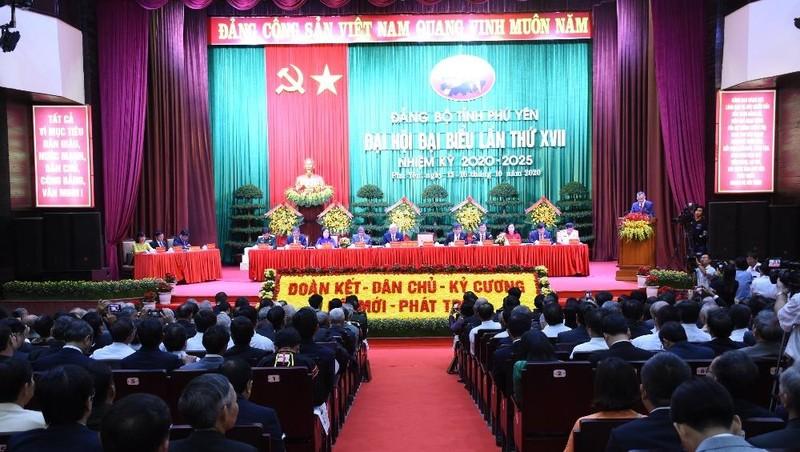 Đại hội đại biểu Đảng bộ tỉnh Phú Yên lần thứ XVII.
