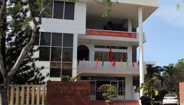 Sở Nội Vụ tỉnh Phú Yên - nơi xảy ra vụ lộ đề thi.