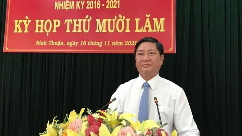 Phó Bí thư Tỉnh ủy Ninh Thuận được bầu giữ chức Chủ tịch UBND tỉnh