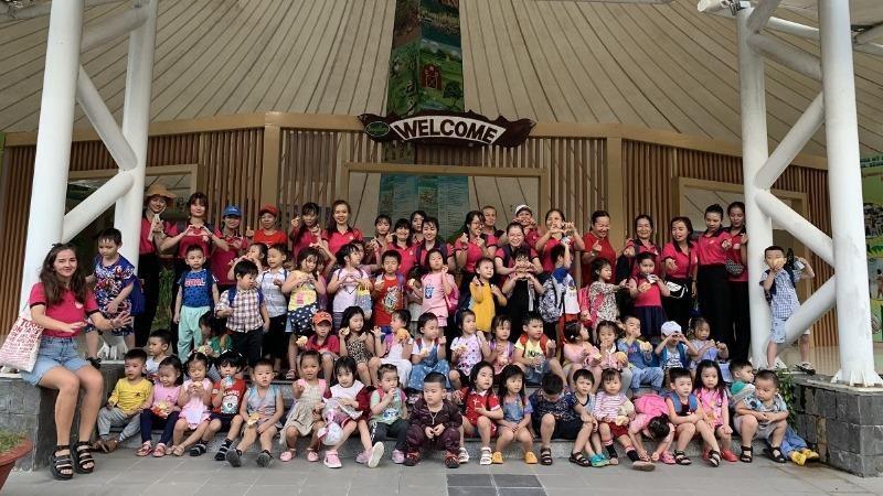 Các em nhỏ Trường Mầm non LittleStarsNha Trang khám phá Yang Bay.
