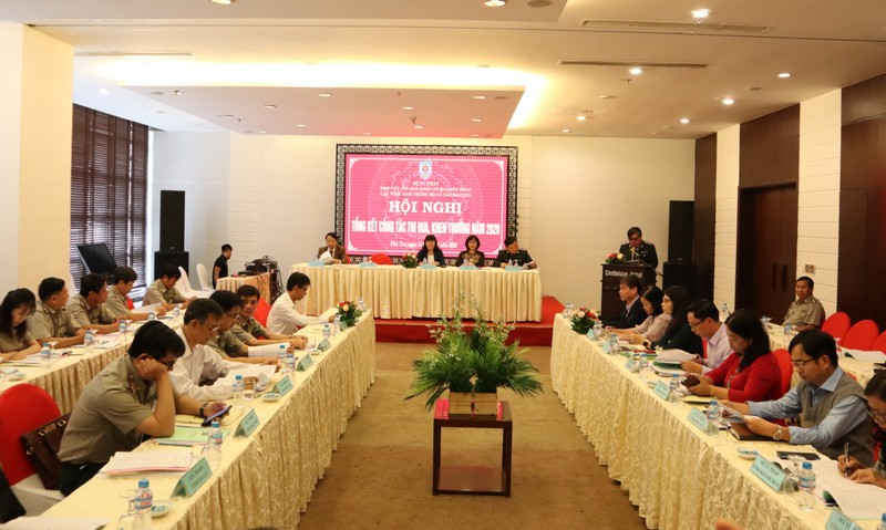 Tổng kết thi đua khối Cơ quan Tư pháp các tỉnh Nam Trung Bộ và Tây Nguyên