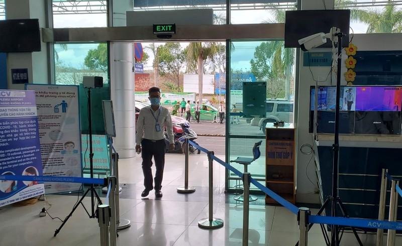 Tất cả nhân viên Cảng hàng không Pleiku âm tính với virus SARS-CoV-2