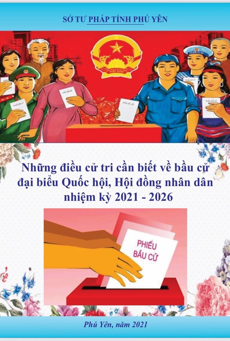 Phú Yên đẩy mạnh tuyên truyền pháp luật về bầu cử