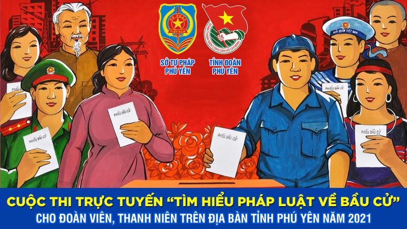"""Phú Yên tổ chức cuộc thi trực tuyến """"Tìm hiểu pháp luật về bầu cử"""""""