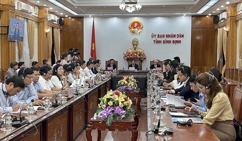 Hội thảo tại điểm cầu Bình Định.