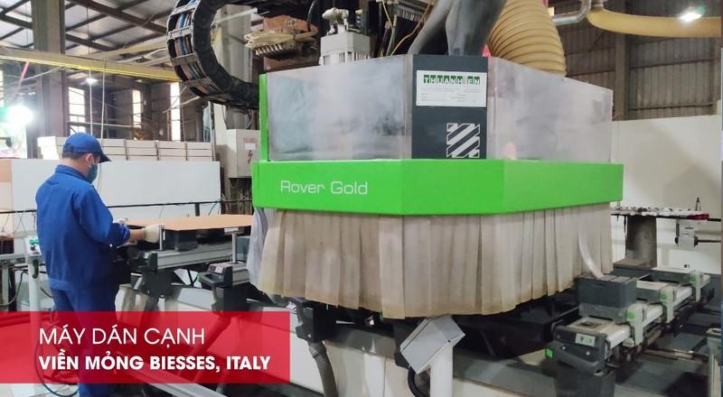 Xuân Hòa đầu tư hệ thống máy Biesse, Italy công nghệ Slimline hiện đại.