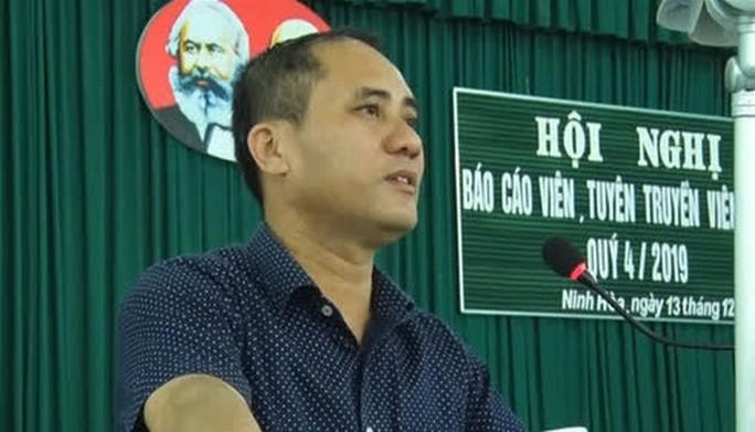 Bí thư phường ở Khánh Hòa tử vong: Tạm giữ hình sự 1 nghi can