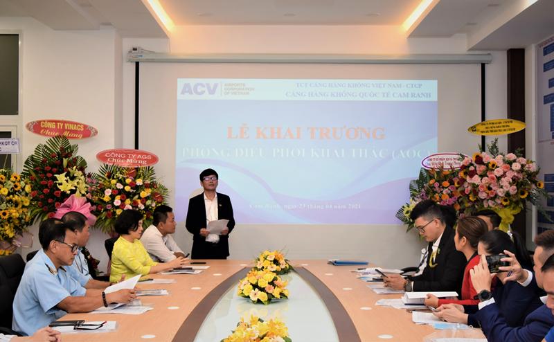 Cảng hàng không quốc tế Cam Ranh đưa Phòng Điều phối khai thác vào hoạt động