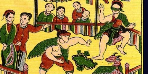 Còn ai chơi tranh Đông Hồ- Hàng Trống?