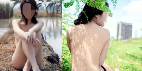 Đua nhau chụp ảnh nude để thể hiện đẳng cấp