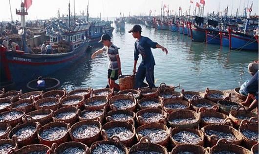 Nghị quyết đặt ra mục tiêu đến năm 2030, các ngành kinh tế thuần biển đóng góp khoảng 10% GDP cả nước. Ảnh minh họa.