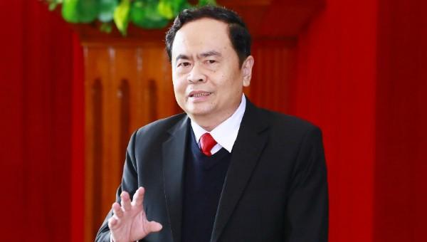 Chủ tịch UBTW MTTQ Việt Nam Trần Thanh Mẫn.