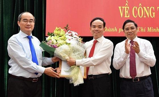 Ông Trần Lưu Quang giữ chức Phó Bí thư Thường trực Thành ủy TP Hồ Chí Minh