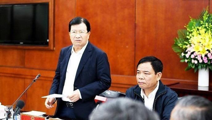 Phó Thủ tướng Trịnh Đình Dũng phát biểu tại phiên họp