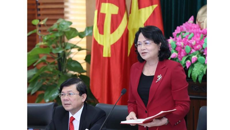 Phó Chủ tịch nước Đặng Thị Ngọc Thịnh: Phát triển kinh tế phải đi liền với tiến bộ xã hội
