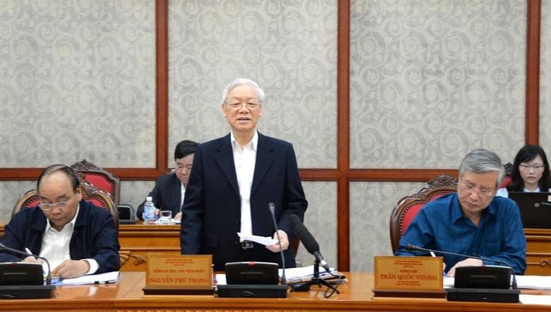 """Tổng Bí thư, Chủ tịch nước Nguyễn Phú Trọng: Làm gì phải """"chạy"""", """"chạy"""" là không dùng!"""