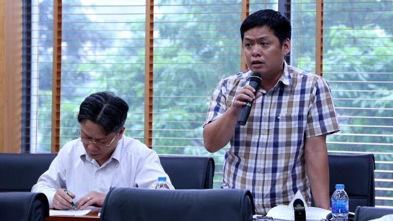 Ông Nguyễn Tư Long trả lời tại buổi họp báo