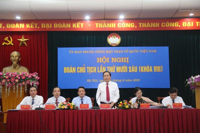 Nhiều kiến nghị, phản ánh của Nhân dân đã được đưa vào Báo cáo của Ban Thường trực UBTW MTTQ Việt Nam.