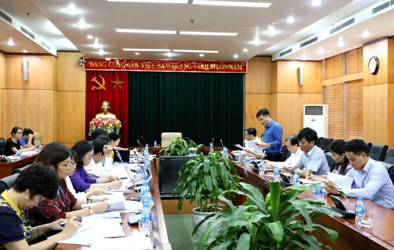 Tổ công tác của Thủ tướng kiểm tra hoạt động công vụ với Bộ VHTT&DL.