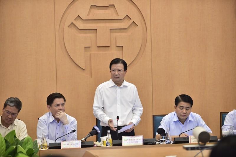 """Phó Thủ tướng Chính phủ Trịnh Đình Dũng: """"Đường sắt Cát Linh- Hà Đông phải khai thác ngay trong năm nay"""