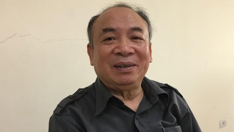 PGS.TS Nguyễn Văn Mạnh, nguyên Viện trưởng Viện Nhà nước và Pháp luật, Học viện Chính trị Quốc gia Hồ Chí Minh