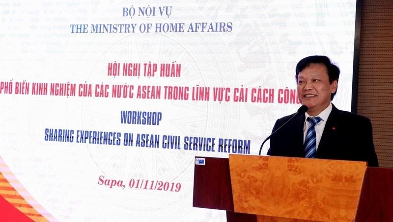 Phổ biến kinh nghiệm của các nước ASEAN trong cải cách công vụ
