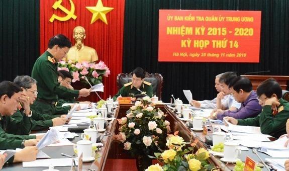 Kỳ họp thứ 14 của UBKT QUTƯ.