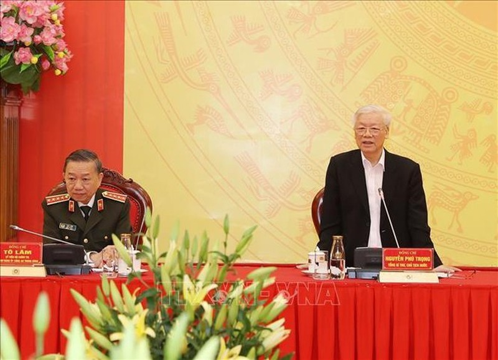 Tổng Bí thư, Chủ tịch nước Nguyễn Phú Trọng:  Không để những cán bộ vi phạm được cơ cấu vào cấp ủy nhiệm kỳ mới