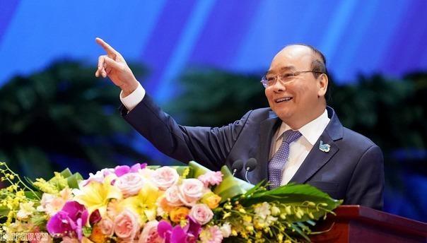 Thủ tướng Nguyễn Xuân Phúc mong muốn thanh niên cần có khát vọng cống hiến.