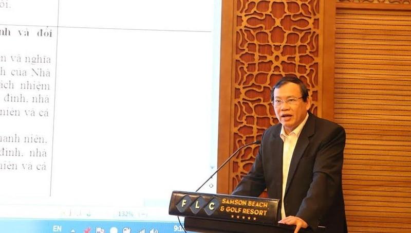 ông Vũ Trọng Kim, Chủ tịch Trung ương Hội Cựu Thanh niên xung phong Việt Nam kiến nghị cần nâng cao trách nhiệm của thanh niên đối với xã hội.