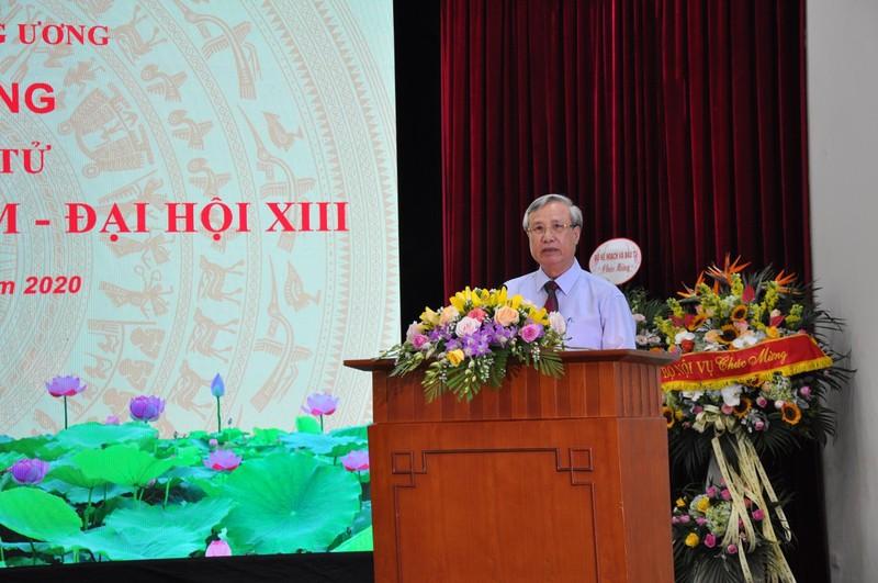 Ủy viên Bộ Chính trị, Thường trực Ban Bí thư Trần Quốc Vượng phát biểu chỉ đạo tại buổi lễ.