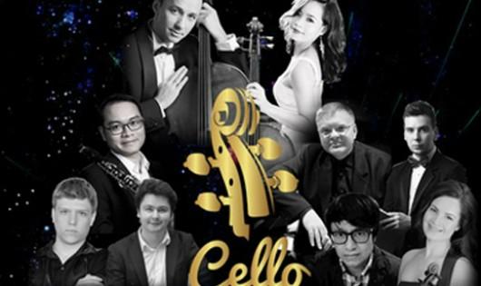 6 nghệ sĩ quốc tế sẽ tham gia 'Cello Fundamento Concert 2'