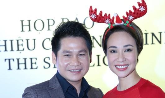 Trọng Tấn cần Uyên Linh 'nâng đỡ' tại đêm hòa nhạc Giáng sinh