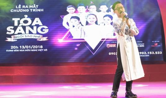 """Sao nhí Nhật Minh, Đức Vĩnh, Hà Quỳnh Như tái hợp tại """"Tỏa sáng ngôi sao nhí"""""""