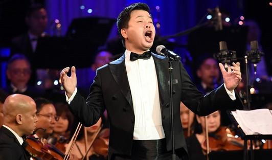 """Đăng Dương, Đinh Trang cùng """"'V-Concert- Hòa nhạc năm mới 2018'"""