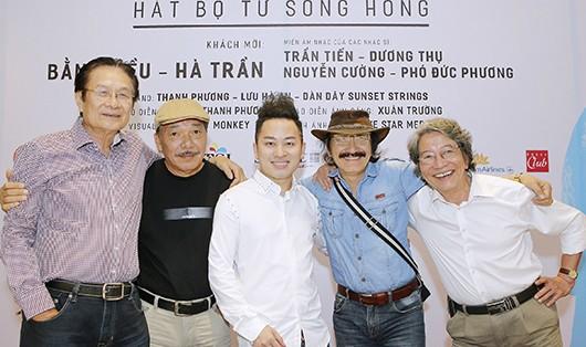'Tùng Dương hát Bộ tứ sông Hồng' thành 'quả bom' của làng nghệ thuật?