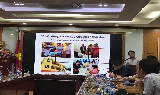 Thi ảnh về 'Chăm sóc sức khỏe ban đầu cho người dân Việt Nam'