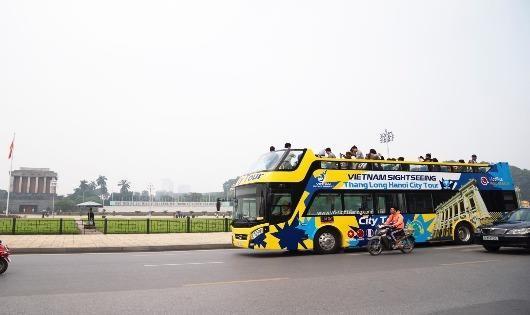 Người dân sẽ được thử nghiệm tuyết buýt 2 tầng mui trần miễn phí trong 3 ngày