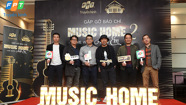 """Chuỗi chương trình lọt đề cử Cống hiến - """"Music Home quay lại mùa 2"""