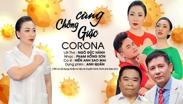 Sao mai Hiền Anh ra MV 'Cùng chống giặc Corona'