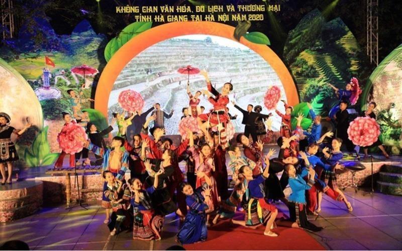 Không gian văn hóa, du lịch và thương mại tỉnh Hà Giang tại Hà Nội năm 2020