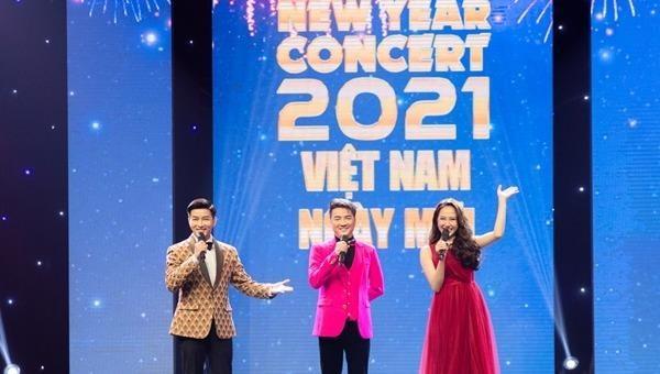 """Hành trình kết nối 3 miền tại """"New Year Concert 2021"""""""