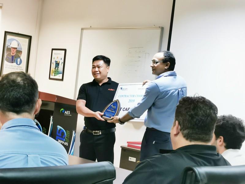 ADEN Việt Nam vinh dự được nhà máy nhiệt điện Mông Dương II vinh danh Nhà thầu an toàn của năm 2018