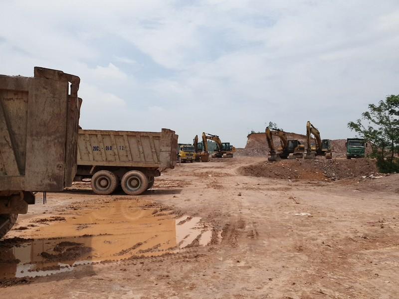 Tiến độ xây dựng KCN Sông Công II đang được nỗ lực đẩy nhanh