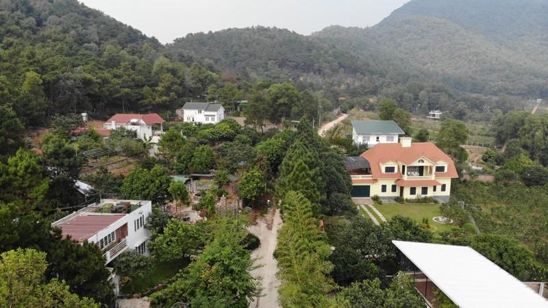 Ảnh: Các công trình vi phạm trên đất rừng Sóc Sơn