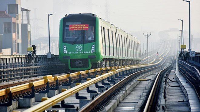 Nhiều dự án đường sắt đô thị được đầu tư nhằm cải thiện tình trạng giao thông cho Hà Nội