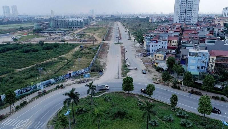"""Tuyến đường từ đê Ngọc Thụy đến khu đô thị mới Thượng Thanh gần 4 km đổi 180 ha đất """"vàng"""" ở Hà Nội (Ảnh Internet)"""