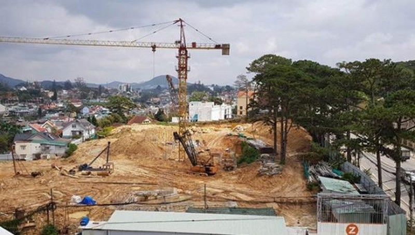 Thanh tra Chính phủ vừa công bố kết luận thanh tra về nhiều vi phạm pháp luật đất đai ở Lâm Đồng.